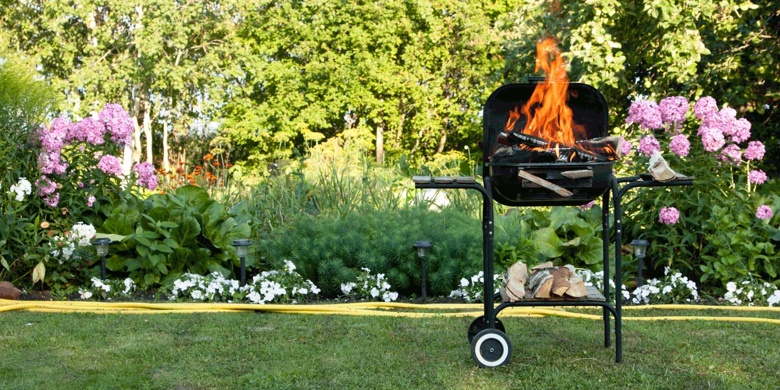 Grill und Garten