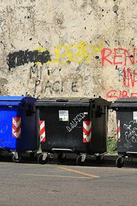 Mülltonnenbereitstellung Lübeck Hamburg